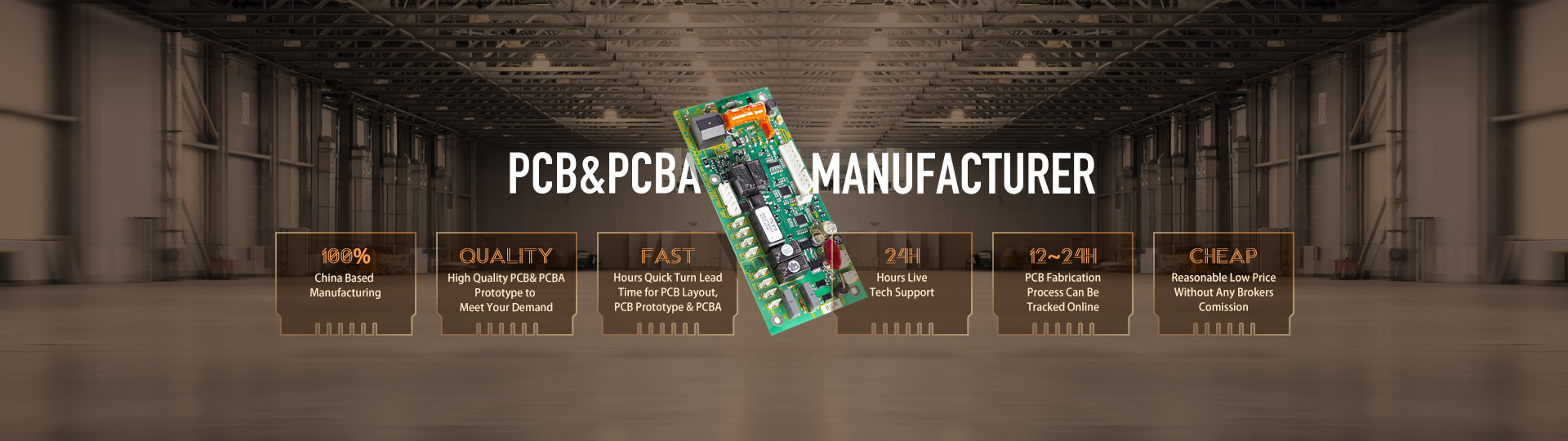 Pcb Printed Circuit Board Manufacturing Assembly Manufacture Ourpcb